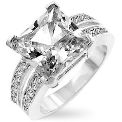 Kate-Bissett-Silvertone-Princess-cut-Cubic-Zirconia-Ring-P11175107