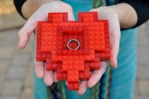lego-heart-ring-pillow