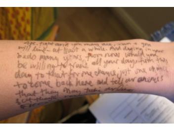 speech on arm